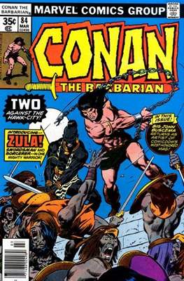 Conan The Barbarian (1970-1993) (Comic Book 32 pp) #84