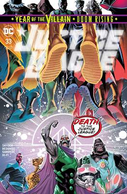 Justice League Vol. 4 (2018- ) (Comic Book) #33
