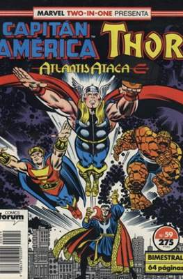 Capitán América Vol. 1 / Marvel Two-in-one: Capitán America & Thor Vol. 1 (1985-1992) (Grapa 32-64 pp) #59