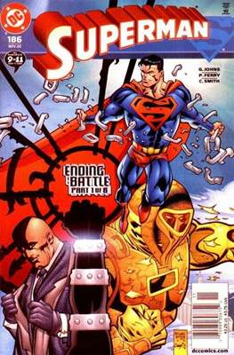 Superman Vol. 2 (1987-2006) (Comic Book) #186