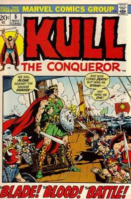 Kull the Conqueror / Kull the Destroyer (1971-1978) #5
