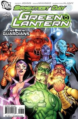 Green Lantern Vol. 4 (2005-2011) (Comic book) #53