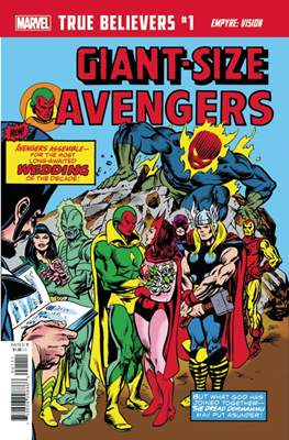 True Believers - Giant-Size Avengers Empyre: Vision