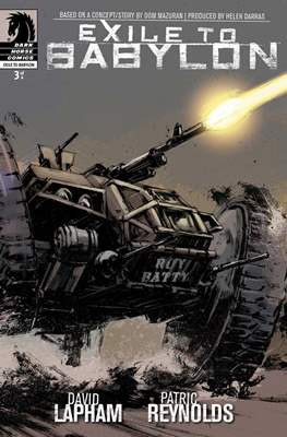 Exile to Babylon (Comic book) #3