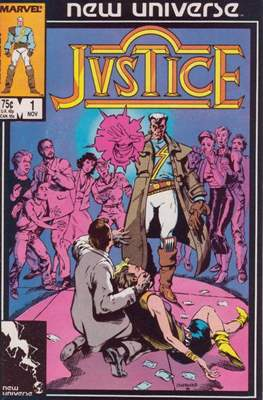 Justice. New Universe (1986)
