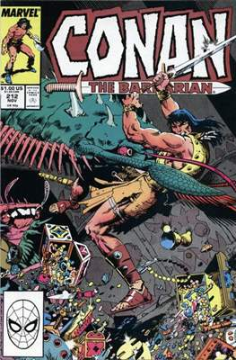 Conan The Barbarian (1970-1993) (Comic Book 32 pp) #212