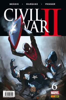 Civil War II (2016-2017) (Grapa. Color) #6