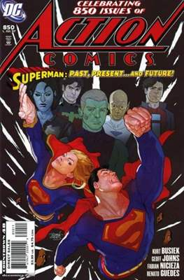 Action Comics Vol. 1 (1938-2011; 2016-) (Comic Book) #850