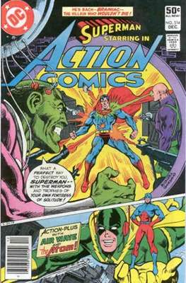 Action Comics Vol. 1 (1938-2011; 2016-) (Comic Book) #514
