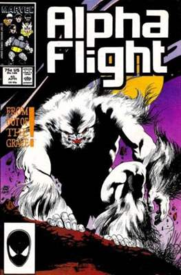 Alpha Flight Vol. 1 (1983-1994) (Comic Book) #45