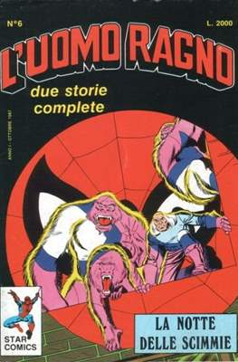 L'Uomo Ragno / Spider-Man Vol. 1 / Amazing Spider-Man #6