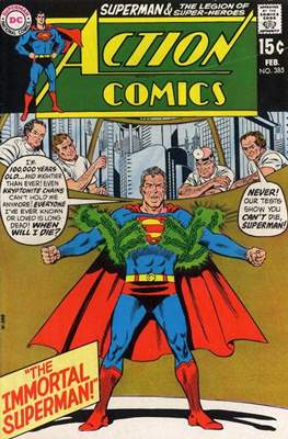 Action Comics Vol. 1 (1938-2011; 2016-) (Comic Book) #385