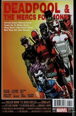 Deadpool & the Mercs for Money (2016-2017 Variant Cover)