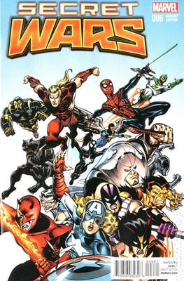 Secret Wars (2015) Variant Covers (Comic Book) #6.4