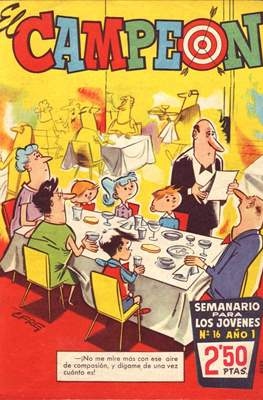 El Campeón (1960) (Grapa) #16