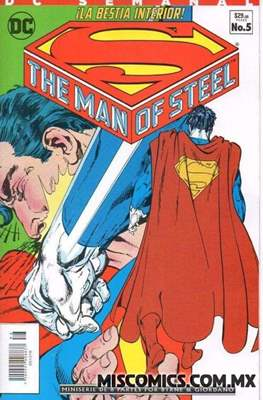 Superman The Man of Steel - DC Semanal (Grapa) #5