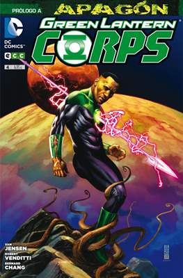 Green Lantern Corps. Nuevo Universo DC (Rústica) #4