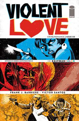 Violent Love (Variant Covers) (Comic Book) #3.1