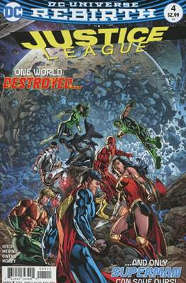 Justice League Vol. 3 (2016-2018) (Comic-book) #4