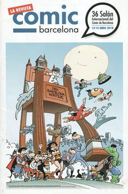 Saló Internacional del Còmic de Barcelona / El tebeo del Saló / Guía del Saló (Grapa) #36