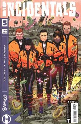 Incidentals (Comic book) #5