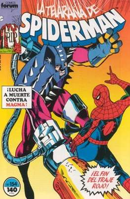 Spiderman Vol. 1 / El Espectacular Spiderman (1983-1994) (Grapa 32-48 pp) #154