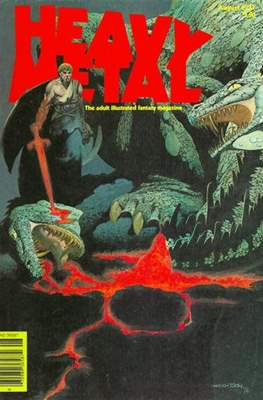 Heavy Metal Magazine (Grapa) #5