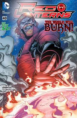 Red Lanterns (2011 - 2015) New 52 #40