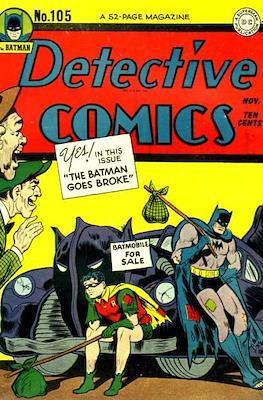 Detective Comics Vol. 1 (1937-2011; 2016-) (Comic Book) #105