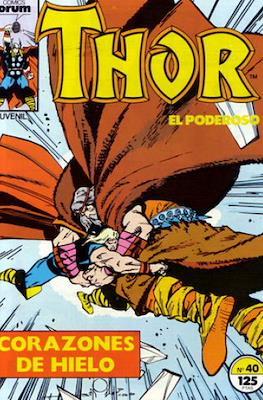 Thor, el Poderoso (1983-1987) #40