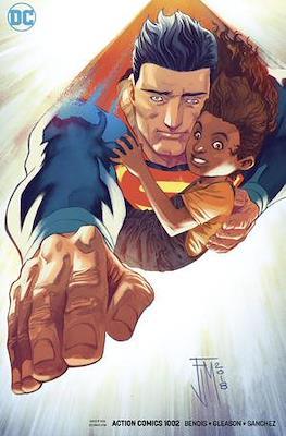 Action Comics Vol. 1 (1938-2011; 2016-... Variant Covers) (Comic Book) #1002