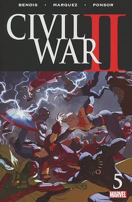 Civil War II (Comic-book) #5