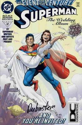 Superman: The Wedding Album (Variant Cover) (Softcover) #1.1