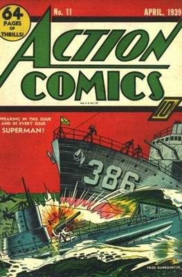 Action Comics Vol. 1 (1938-2011; 2016-) (Comic Book) #11