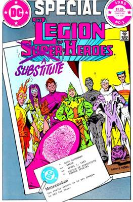 Special the Legion of Substitute-heroes