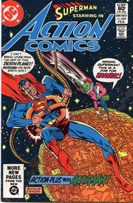 Action Comics Vol. 1 (1938-2011; 2016-) (Comic Book) #528