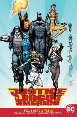 Justice League of America (2017-) (Softcover) #5