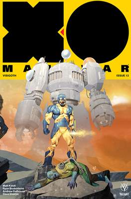 X-O Manowar Vol. 4 (2017-2019 Variant Cover) #13
