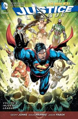 Justice League (2011-2016) (Softcover) #6