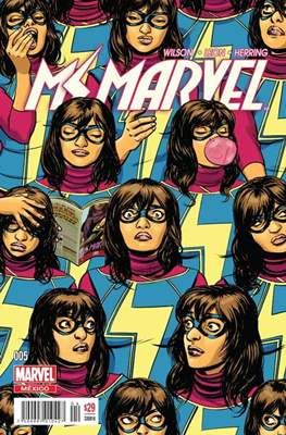 Ms. Marvel (2016-2017) #5