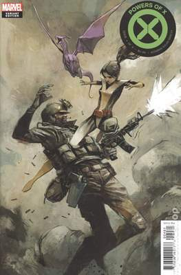 Powers of X (Variant Cover) #4.2