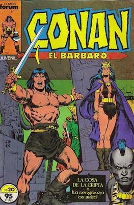 Conan el Bárbaro (1983-1994) (Grapa. 19x27. 36/32/24 páginas. Color.) #20