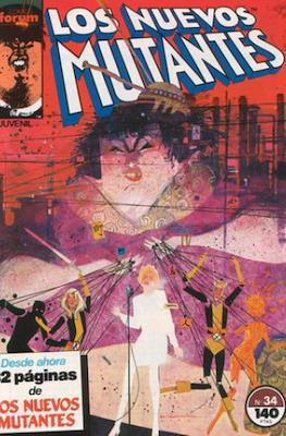 Los Nuevos Mutantes Vol. 1 (1986-1990) (Grapa 32-64 pp) #34
