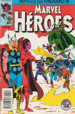 Marvel Héroes (1986-1993) (Grapa 32 pp) #30