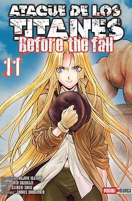 Ataque de los Titanes: Before the Fall (Rústica) #11