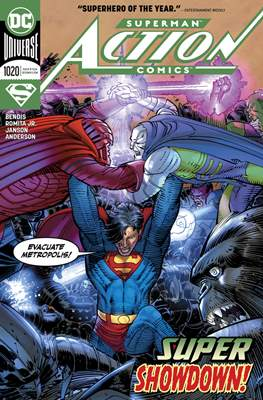Action Comics Vol. 1 (1938-2011; 2016-) (Comic Book) #1020