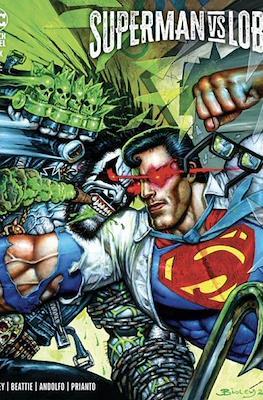 Superman vs. Lobo (Variant Cover)