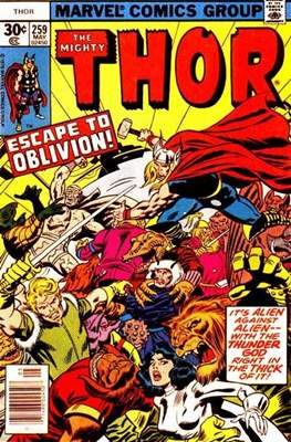 Journey into Mystery / Thor Vol 1 (Comic Book) #259