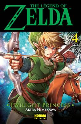The Legend of Zelda: Twilight Princess (Rústica con sobrecubierta) #4