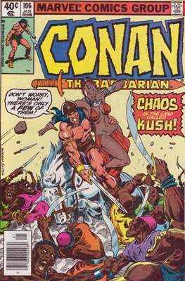 Conan The Barbarian (1970-1993) (Comic Book 32 pp) #106